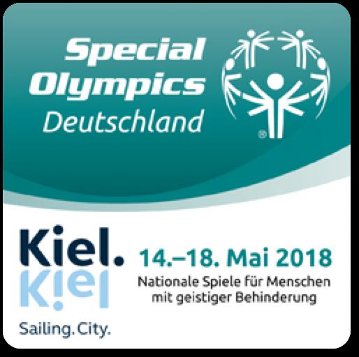 Banner Special Olympics Special Olympics Kiel 2018