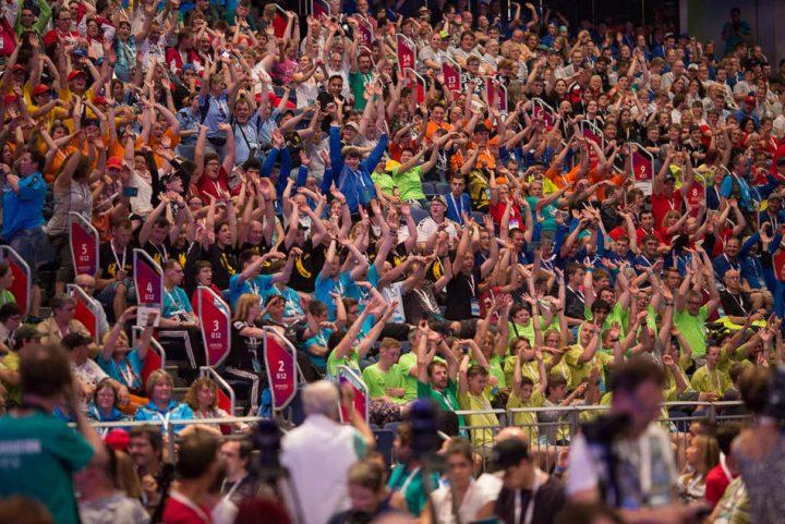Teilnehmer und Besucher freuen sich auf eine farbenfrohe, lustige Woche in Hannover. (Foto: SOD/ Christian Burkert)