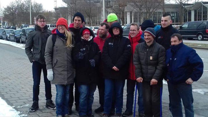 Bei winterlichen Temperaturen tagte der Fachausschuss Athletensprecher für 2 Tage in Kiel und bereitete sich intensiv auf die Special Olympics in Kiel vor