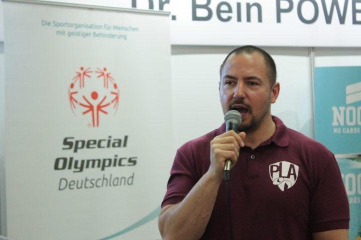 Francesco Virzi ist neuer Sportbotschafter von Special Olympics Deutschland. (Foto: SOD)