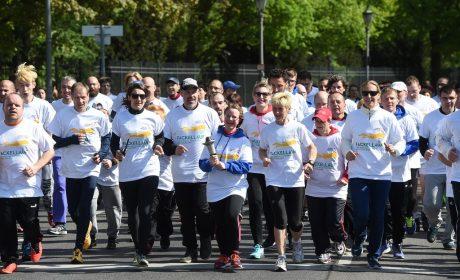 Ausgelassene Stimmung bei den Läuferinnen und Läufern. (Foto: SOD/Juri Reetz)