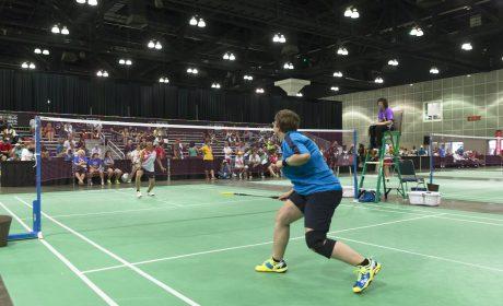 Sportartenbild Badminton