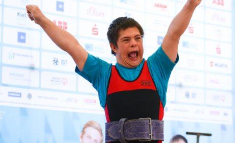 Kraftdreikampf: Thibaut Langenberger von der Astrid Lindgren Schule Willstätt. (Foto: SOD/Ann-Christin Vollmert)