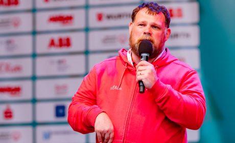 Athletensprecher Mark Solomeyer bedankte sich bei allen Teilnehmern für eine tolle Veranstaltungswoche. (Foto: SOD/Sascha Klahn)