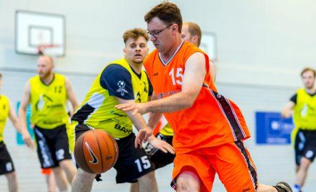 'Gesicht der Spiele' Christoph Bertow, Team Eiderbaskets, gegen den TSV Hagen Unified (Foto: SOD/Sascha Klahn)