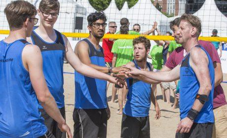 Beachvolleyball: Das Team Wilhelmsdorf. (Foto: SOD/Florian Conrads)