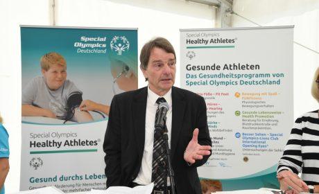 Dr. Ernst Dietrich Munz, Präsident des Vorstandes der Bundespsychotherapeutenkammer (Foto: SOD/Juri Reetz)