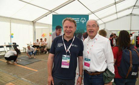 Stefan Schwarz und Gernot Mittler, SOD Ehrenpräsident (Foto: SOD/Juri Reetz)
