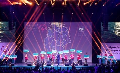 Präsentation aller Landesverbände während der Eröffnungsfeier. (Foto: SOD/Stefan Holtzem)