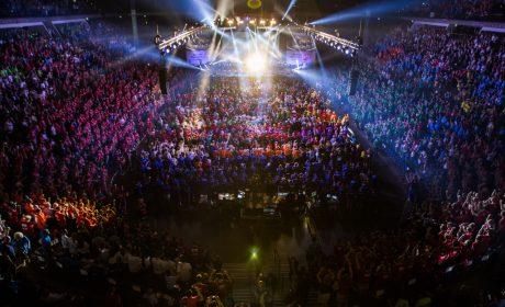 Die Eröffnungsfeier fand in der Sparkassen-Arena-Kiel statt. (Foto: SOD/Jo Henker)