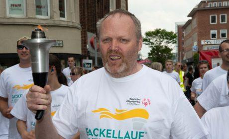 Fackelträger Detlef Schwenßon aus Neumünster (Foto: SOD/Michael Richter)