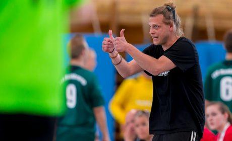 Handball: Der Trainer der Durlach Tornados, Sebastian Tröndle (Foto: SOD/Sascha Klahn)
