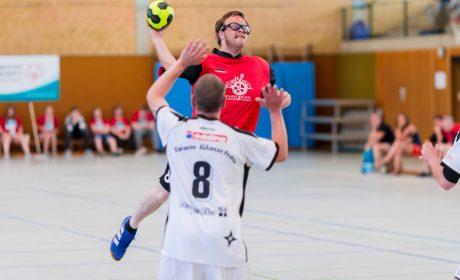 Jörg Hoffmann, Radebeuler Handball Verein Jens Merker, Diakoniewerk Westsachsen gGmbH Werkstatt Lebensbrücke Glauchau (Foto: SOD/Sascha Klahn)