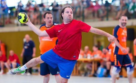 Handball: Daniel Emmer, SV Fortschritt Meißen- West 1990 e.V. (Foto: SOD/Sascha Klahn)