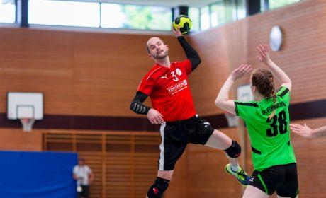 Handball: Unified Partner Marc Hoffmann, Förderverein Special Olympics Hochrhein e.V. (Foto: SOD/Sascha Klahn)