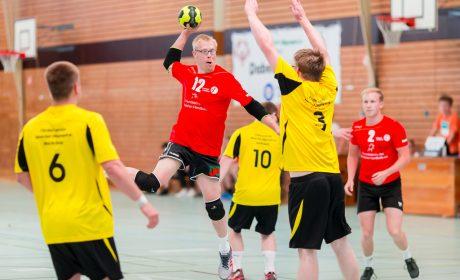 Die Handball-Wettbewerbe der Special Olympics Kiel 2018 werden im Sportzentrum Kronshagen ausgetragen. (Foto: SOD/Sascha Klahn)