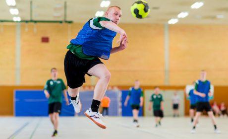 Handball: Stan Häberer, Schule des Lebens Helen Keller (Foto: SOD/Sascha Klahn)