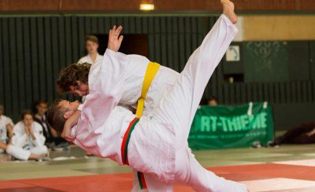 Judo: Anja Vriesen und Christoph Vriesen von der SC Budokan Bocholt e.V. (Foto: SOD/Jo Henker)