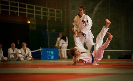 Judo: Jasmin Siebelitz und Lukas Wetzel vom Budokan Hünxe. (Foto: SOD/Jo Henker)