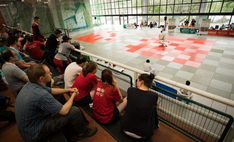Judo. Die Wettkämpfe haben in der Uni Sportforum stattgefunden. (Foto: SOD/Jo Henker)