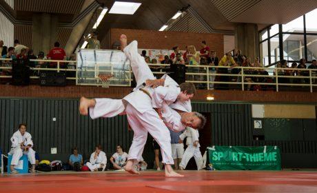 Judo, Unified-Kata Wettbewerb: Henry Unterseher und Max Sonner. (Foto: SOD/Jo Henker)