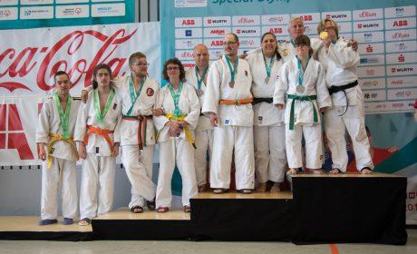Judo, Unified-Kata Wettbewerb: die Siegerehrung. (Foto: SOD/Jo Henker)