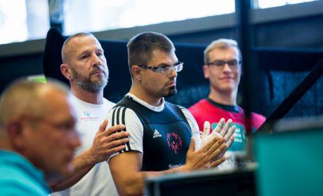 Kraftdreikampf: Danilo Pasnicki von der Johanens Diakonie Mosbach. (Foto: SOD/Jo Henker)