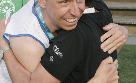 Leichtathletik, 10.000 m Lauf: Manuel Maier, Lebenshilfe der Region Baden-Baden-Bühl-Achern e.V. (Foto: SOD/Jörg Brüggemann OSTKREUZ)