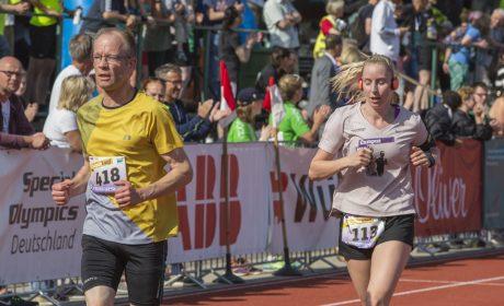 Leichtathletik, 5.000 m Lauf: Andreas Meyer, Lebenshilfe Brandenburg-Potsdam e.V. (Foto: SOD/Florian Conrads)