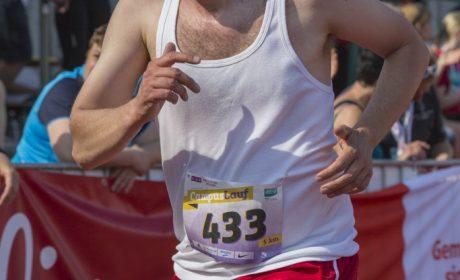 Leichtathletik, 5.000 m Lauf: Andre Straub, Lebenshilfe Ostallgäu-Wertachtal Werkstätten (Foto: SOD/Florian Conrads)