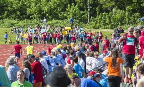 Die Wettbewerbe in der Leichtathletik der Special Olympics Kiel 2018 wurden im Uni Sportforum der Universität Kiel ausgetragen. (Foto: SOD/Florian Conrads)