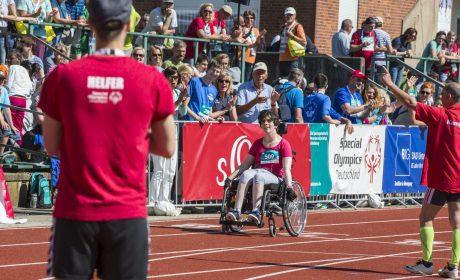 Leichtathletik: Anja Augsburger, Schwarzwaldwerkstätten/ Dornstetten (Foto: SOD/Florian Conrads)