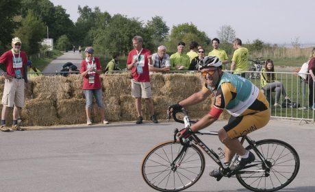 Radfahren, Finale 25km Strassenrennen: Anton Schuster, Unterallgäuer Werstätten Memmingen-Mindelheim (Foto: SOD/Jörg Brüggemann OSTKREUZ)