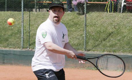 Tennis, Einzel Männer: Matthias Kirch, TC Grün Weiss Neuss (Foto: SOD/Jörg Brüggemann OSTKREUZ)