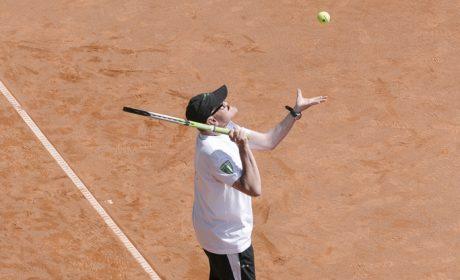 Tennis, Einzel Männer: Jens Graumann, TC Grün Weiss Neuss (Foto: SOD/Jörg Brüggemann OSTKREUZ)
