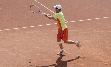 Tennis, Einzel Männer: Jonas Eiermann, Hagsfelder Werkstätten & Wohngemeinschaften (Foto: SOD/Jörg Brüggemann OSTKREUZ)