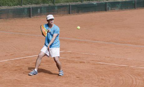 Tennis, Einzel Männer: Cedric Rüter, Pro Down Heidelberg e.V. (Foto: SOD/Jörg Brüggemann OSTKREUZ)