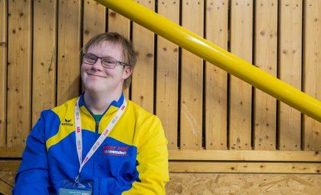 Björn Schmidt von der Behindertenhilfe Vogelsbergkreis e.V. (Foto: SOD/ Florian Conrads)