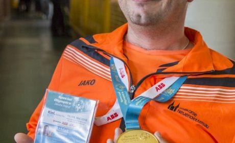Klaus Dittrich von Diakonie Neuendettelsau/ Sportteam POG (Foto: SOD/ Florian Conrads)