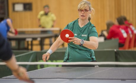 Elke Hohmann vom DJK Franz Sales Haus e.V. bei den Klassifizierungs-Wettbewerben. (Foto: SOD/ Florian Conrads)