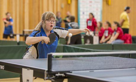 Sandra Frosch, Familie Rösenberg/Frosch, bei den Klassifizierungs-Wettbewerben. (Foto: SOD/ Florian Conrads)