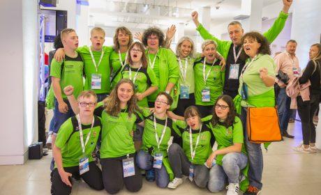 Familienempfang: Die Elterninitiative des 46PLUS Down-Syndrom Stuttgart e.V. (Foto: SOD/Florian Conrads)