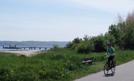 Radfahren mit Blick aufs Wasser Foto: SOD